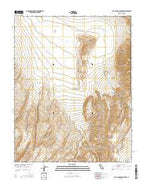 Last Chance Range SW California Current topographic map, 1:24000 scale, 7.5 X 7.5 Minute, Year 2015 from California Map Store