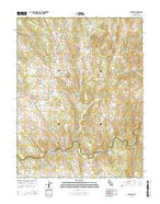 Latrobe California Current topographic map, 1:24000 scale, 7.5 X 7.5 Minute, Year 2015 from California Map Store