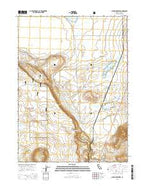 Lauer Reservoir California Current topographic map, 1:24000 scale, 7.5 X 7.5 Minute, Year 2015 from California Map Store