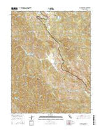 Laughlin Range California Current topographic map, 1:24000 scale, 7.5 X 7.5 Minute, Year 2015 from California Map Store