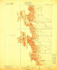 Logan Creek California Historical topographic map, 1:31680 scale, 7.5 X 7.5 Minute, Year 1918