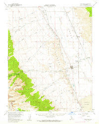 Lone Pine California Historical topographic map, 1:62500 scale, 15 X 15 Minute, Year 1958
