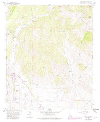 Los Olivos California Historical topographic map, 1:24000 scale, 7.5 X 7.5 Minute, Year 1959