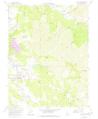 Lower Lake California Historical topographic map, 1:24000 scale, 7.5 X 7.5 Minute, Year 1958