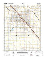 Madera California Current topographic map, 1:24000 scale, 7.5 X 7.5 Minute, Year 2015 from California Map Store