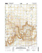 Mahogany Ridge California Current topographic map, 1:24000 scale, 7.5 X 7.5 Minute, Year 2015 from California Map Store