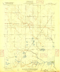 Maine Prairie California Historical topographic map, 1:31680 scale, 7.5 X 7.5 Minute, Year 1916