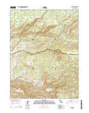 Manton California Current topographic map, 1:24000 scale, 7.5 X 7.5 Minute, Year 2015 from California Maps Store