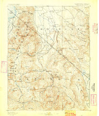 Markleeville California Historical topographic map, 1:125000 scale, 30 X 30 Minute, Year 1893