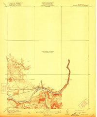 Merced Falls California Historical topographic map, 1:31680 scale, 7.5 X 7.5 Minute, Year 1919
