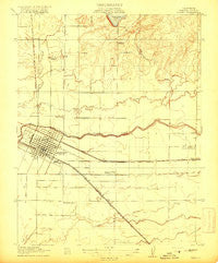 Merced California Historical topographic map, 1:31680 scale, 7.5 X 7.5 Minute, Year 1917