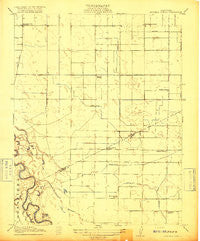 Mitchell School California Historical topographic map, 1:31680 scale, 7.5 X 7.5 Minute, Year 1916