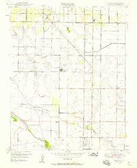 Monson California Historical topographic map, 1:24000 scale, 7.5 X 7.5 Minute, Year 1949