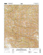 Mount Boardman California Current topographic map, 1:24000 scale, 7.5 X 7.5 Minute, Year 2015 from California Map Store