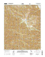 Mount Carmel California Current topographic map, 1:24000 scale, 7.5 X 7.5 Minute, Year 2015 from California Map Store