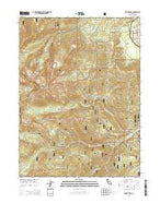 Mount Eddy California Current topographic map, 1:24000 scale, 7.5 X 7.5 Minute, Year 2015 from California Map Store