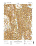 Mount George California Current topographic map, 1:24000 scale, 7.5 X 7.5 Minute, Year 2015 from California Map Store