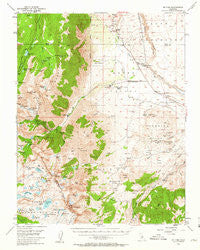 Mt. Tom California Historical topographic map, 1:62500 scale, 15 X 15 Minute, Year 1949