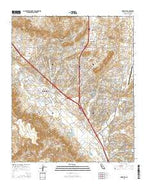 Murrieta California Current topographic map, 1:24000 scale, 7.5 X 7.5 Minute, Year 2015 from California Map Store