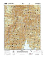 Musick Mountain California Current topographic map, 1:24000 scale, 7.5 X 7.5 Minute, Year 2015 from California Map Store