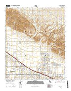 Myoma California Current topographic map, 1:24000 scale, 7.5 X 7.5 Minute, Year 2015 from California Map Store