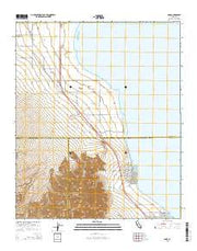 Oasis California Current topographic map, 1:24000 scale, 7.5 X 7.5 Minute, Year 2015 from California Maps Store