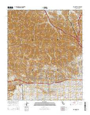 Oat Mountain California Current topographic map, 1:24000 scale, 7.5 X 7.5 Minute, Year 2015 from California Maps Store