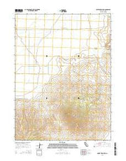 Observation Peak California Current topographic map, 1:24000 scale, 7.5 X 7.5 Minute, Year 2015 from California Maps Store
