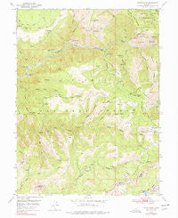 Onion Valley California Historical topographic map, 1:24000 scale, 7.5 X 7.5 Minute, Year 1950