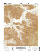 Onyx California Current topographic map, 1:24000 scale, 7.5 X 7.5 Minute, Year 2015 from California Map Store