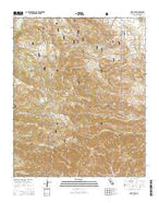 Onyx Peak California Current topographic map, 1:24000 scale, 7.5 X 7.5 Minute, Year 2015 from California Map Store