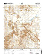 Opal Mountain California Current topographic map, 1:24000 scale, 7.5 X 7.5 Minute, Year 2015 from California Map Store
