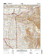 Orange California Current topographic map, 1:24000 scale, 7.5 X 7.5 Minute, Year 2015 from California Map Store