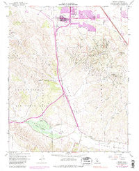 Orcutt California Historical topographic map, 1:24000 scale, 7.5 X 7.5 Minute, Year 1959