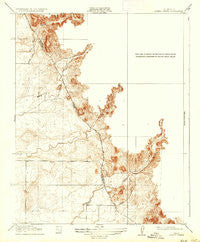Owens Creek California Historical topographic map, 1:31680 scale, 7.5 X 7.5 Minute, Year 1918