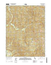 Owl Creek California Current topographic map, 1:24000 scale, 7.5 X 7.5 Minute, Year 2015 from California Maps Store