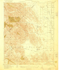 Pacheco Pass California Historical topographic map, 1:62500 scale, 15 X 15 Minute, Year 1920