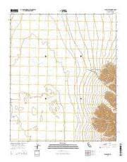 Palen Lake California Current topographic map, 1:24000 scale, 7.5 X 7.5 Minute, Year 2015 from California Maps Store