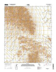Palen Pass California Current topographic map, 1:24000 scale, 7.5 X 7.5 Minute, Year 2015 from California Maps Store