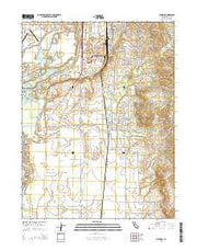 Palermo California Current topographic map, 1:24000 scale, 7.5 X 7.5 Minute, Year 2015 from California Maps Store