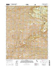 Panther Spring California Current topographic map, 1:24000 scale, 7.5 X 7.5 Minute, Year 2015 from California Maps Store