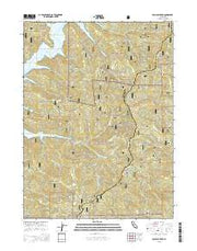 Papoose Creek California Current topographic map, 1:24000 scale, 7.5 X 7.5 Minute, Year 2015 from California Maps Store