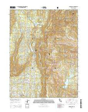Paradise East California Current topographic map, 1:24000 scale, 7.5 X 7.5 Minute, Year 2015 from California Maps Store