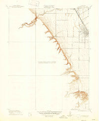 Patterson California Historical topographic map, 1:31680 scale, 7.5 X 7.5 Minute, Year 1916