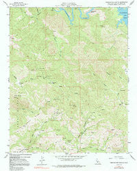 Pebblestone Shut-In California Historical topographic map, 1:24000 scale, 7.5 X 7.5 Minute, Year 1959