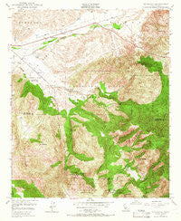 Pechanga California Historical topographic map, 1:24000 scale, 7.5 X 7.5 Minute, Year 1949