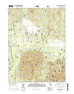 Pegleg Mountain California Current topographic map, 1:24000 scale, 7.5 X 7.5 Minute, Year 2015 from California Map Store