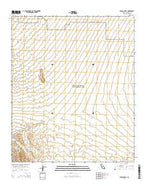 Pegleg Well California Current topographic map, 1:24000 scale, 7.5 X 7.5 Minute, Year 2015 from California Map Store
