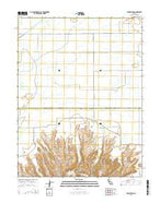 Pennington California Current topographic map, 1:24000 scale, 7.5 X 7.5 Minute, Year 2015 from California Map Store