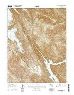 Penon Blanco Peak California Current topographic map, 1:24000 scale, 7.5 X 7.5 Minute, Year 2015 from California Map Store